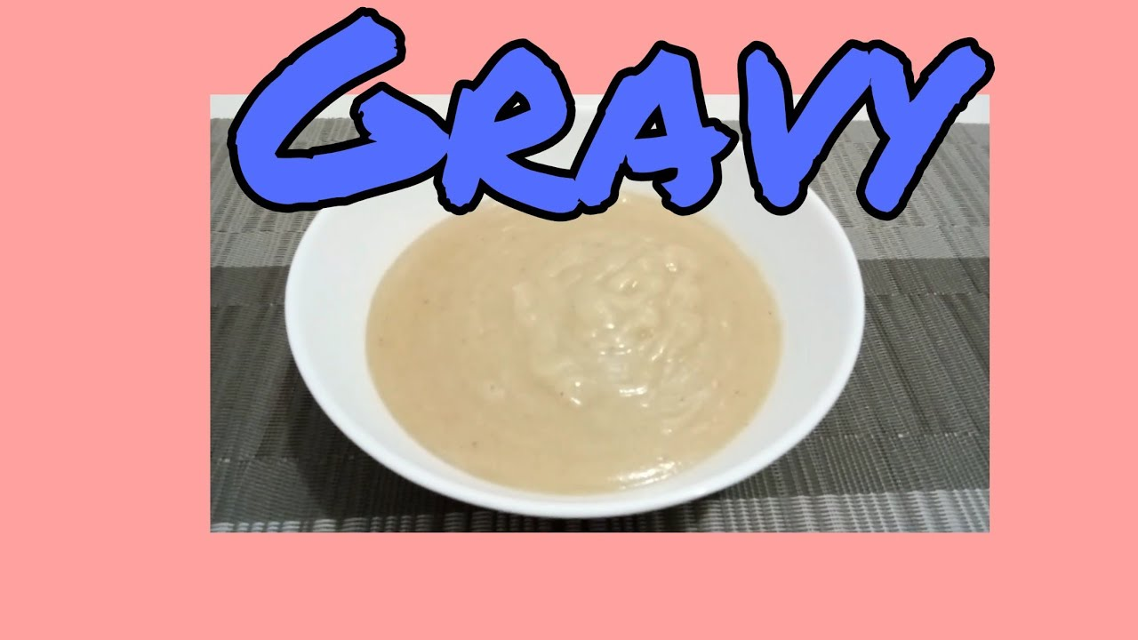 Paano gumawa ng masarap na gravy / Gravy ala KFC