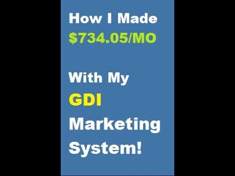 How I Made $734.05 With Global Domains International