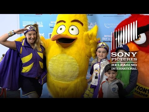 THE ANGRY BIRDS MOVIE - International Day of Happiness - Sydney