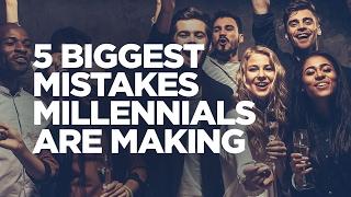 أكبر 5 أخطاء جيل الألفية مع أموالهم - الشباب المزاحمون
