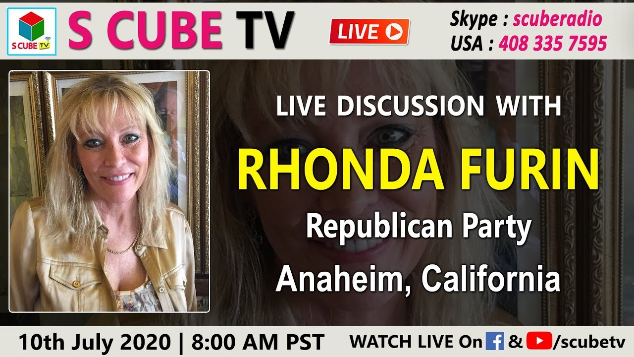 Discussion with Rhonda Furin - Republican Party | Anaheim, California || S Cube TV National