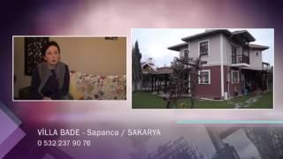 VİLLA BADE - SAKARYA SAPANCA KONAKLAMA