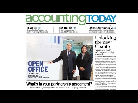 Accounting Today Features Gettry Marcus