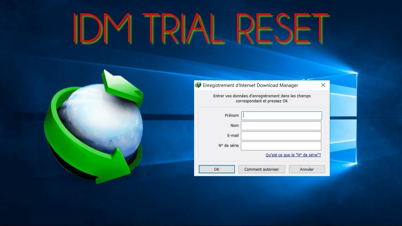 IDM TRIAL RESET 2019: IDM Free for Life Without Serial Number