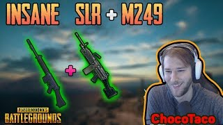 INSANE SLR + M249 - ChocoTaco Duo FPP with I_AM_SWAGGER | PUBG HIGHLIGHTS TOP 1 #166