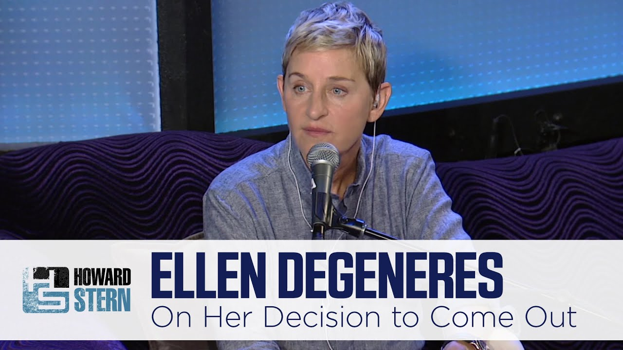 Ellen DeGeneres on Her Decision to Come Out at the Same Time as Her TV Character (2015)