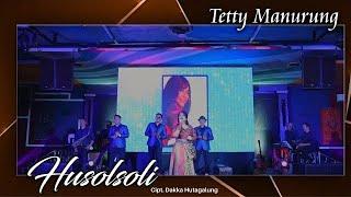 Tetty Manurung feat Anju Trio - Hu Solsoli ( live ) #live