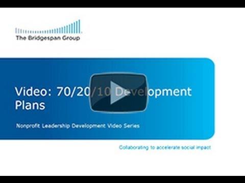 70/20/10 Development Plans