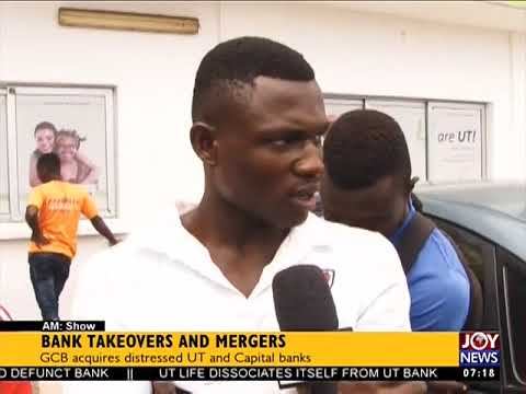 Bank Takeovers and Mergers - AM Business on JoyNews (16-8-17)