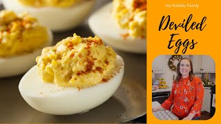 Deviled Eggs -THREE WAYS -