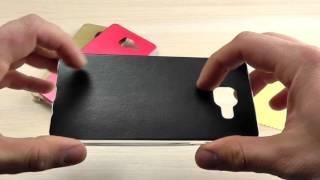 """ОБЗОР: Ультратонкий Силиконовый Чехол-Накладка для Samsung Galaxy A5 (A510) 2016 года """"Фактура кожи"""""""