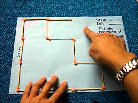 Activity to find perimeter of a composite figure youtube ccuart Gallery