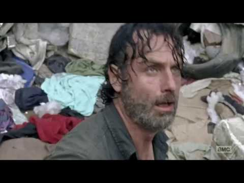 The Walking Dead Rick vs Winslow (7x10)
