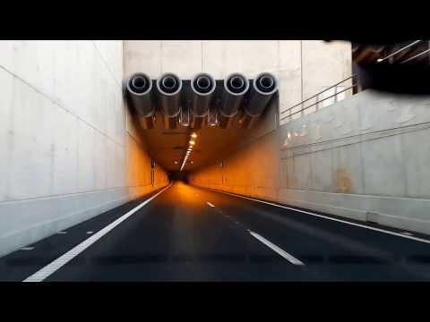 A2 Maastricht: Koning Willem-Alexandertunnel - richting Liège