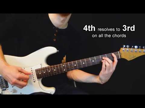 Appoggiaturas on Guitar Chords (Grace Notes) - Chordal Lesson Ep.18 ...
