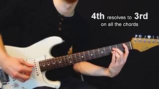 Appoggiaturas on Guitar Chords (Grace Notes) - Chordal Lesson Ep.18