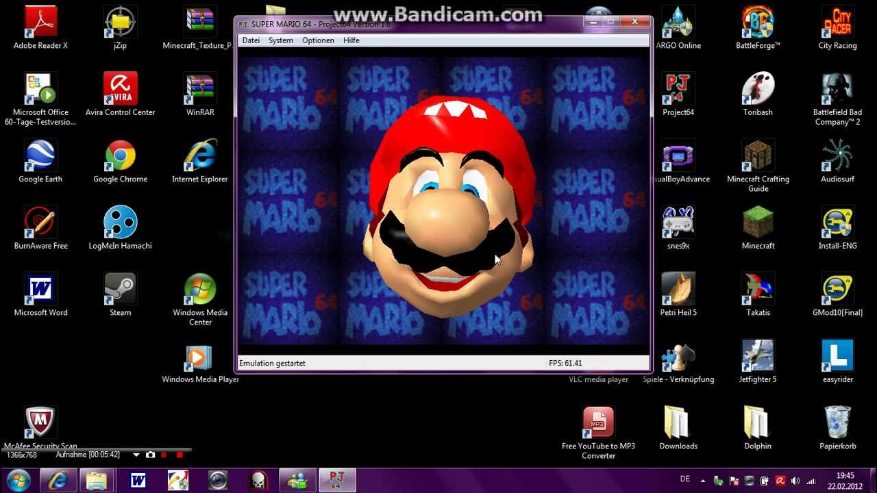 ... 64 auf dem PC spielen + Download & Super Mario 64 Download - YouTube