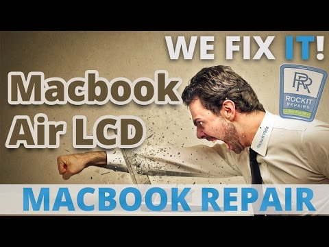 Macbook Air LCD Replacement Guide A1369 A1370 A1465 A1466