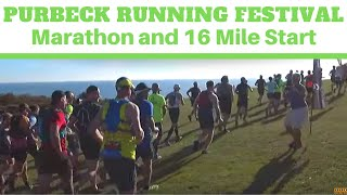 Purbeck Running Festival | Marathon and 16 Mile Race Start
