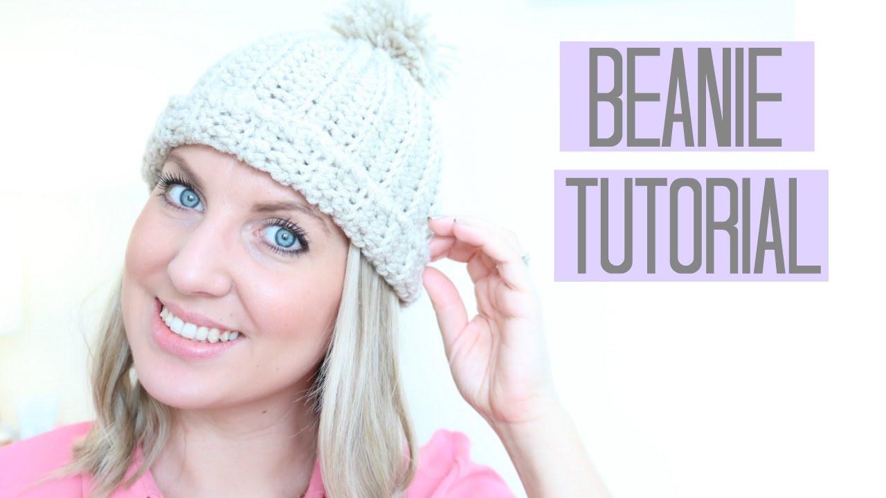 bd38687a18a1e CROCHET  Beanie Hat tutorial