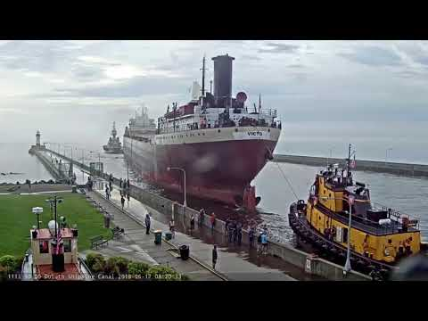 American Victory departed Duluth 06/17/2018