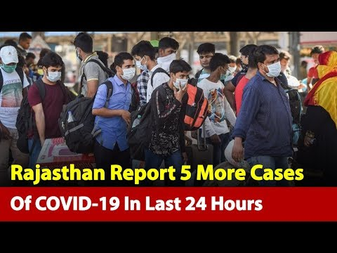 Update: Number Of Pandemic Cases Reach 59 In Rajasthan   News Nation