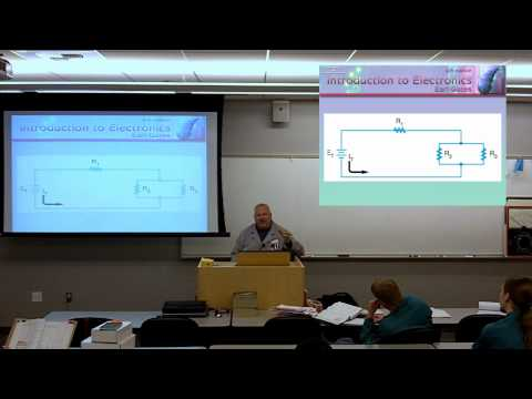 ELEC 110 Chapter 8 Lecture, DC Circuit Wrapup.