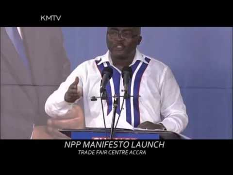 NPP MANIFESTO LAUNCH TRADE FAIR ACCRA