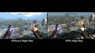 Skyrim Mods: High-Res Texture Pack