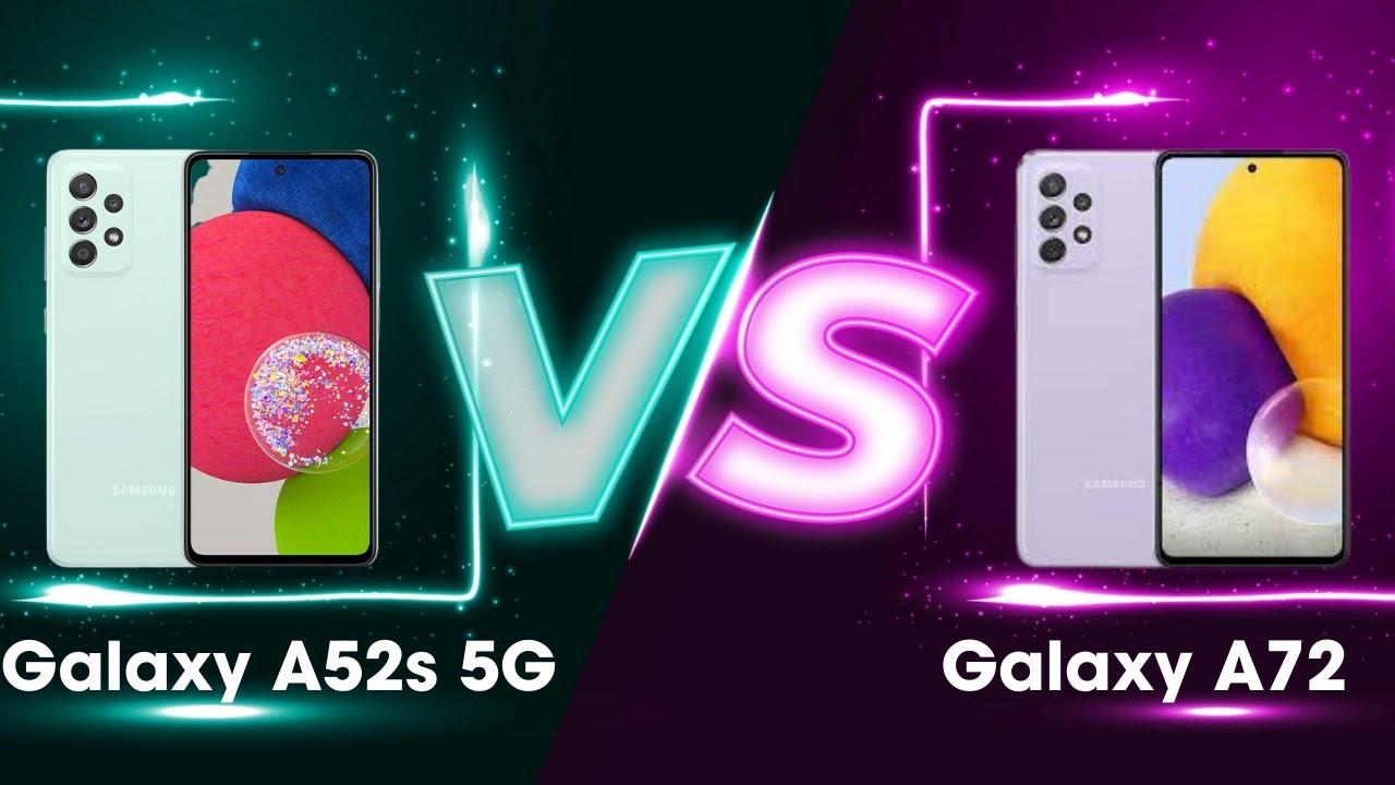 9 Triệu nên mua điện thoại gì? Galaxy A52s 5G hay Galaxy A72? - YouTube