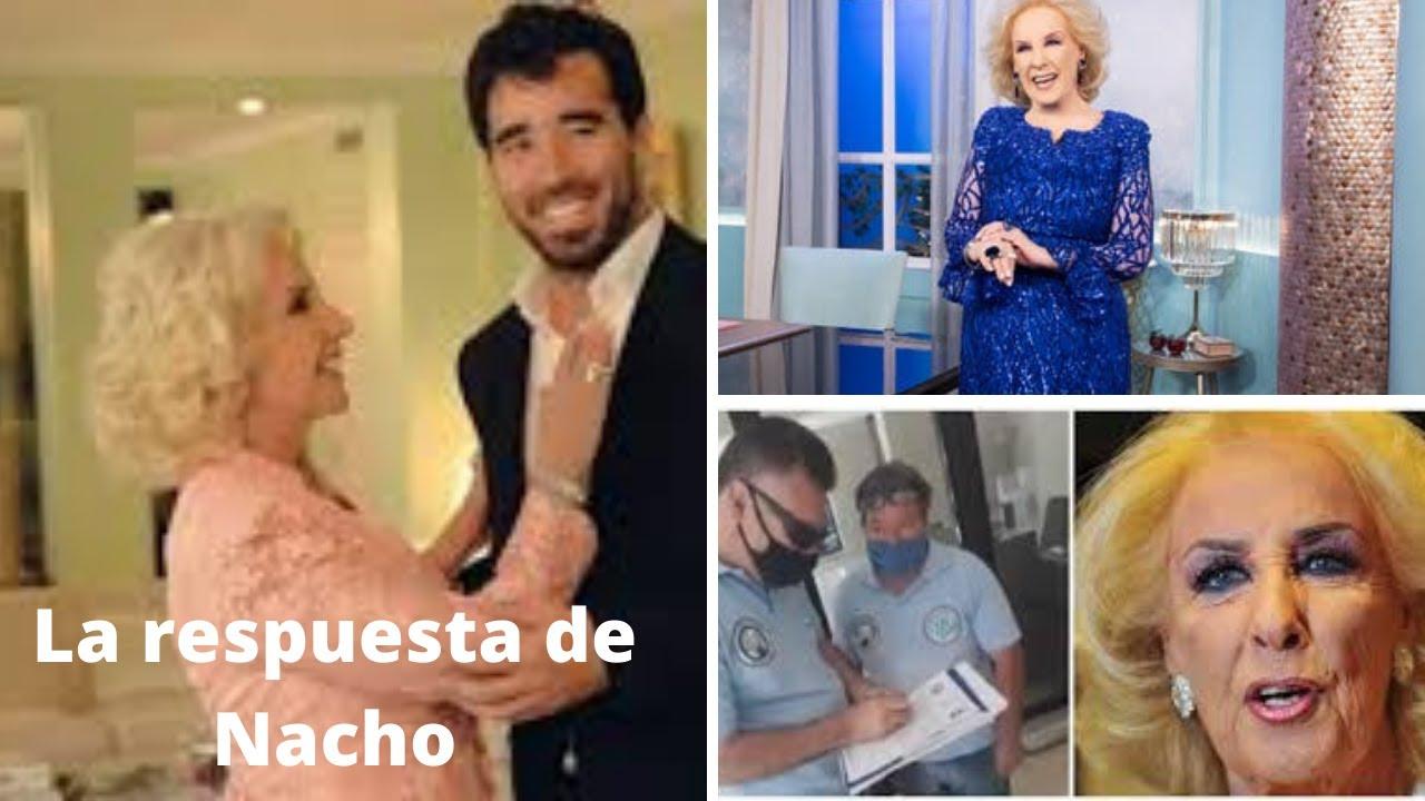 La respuesta de Nacho tras el escándalo con Mirtha