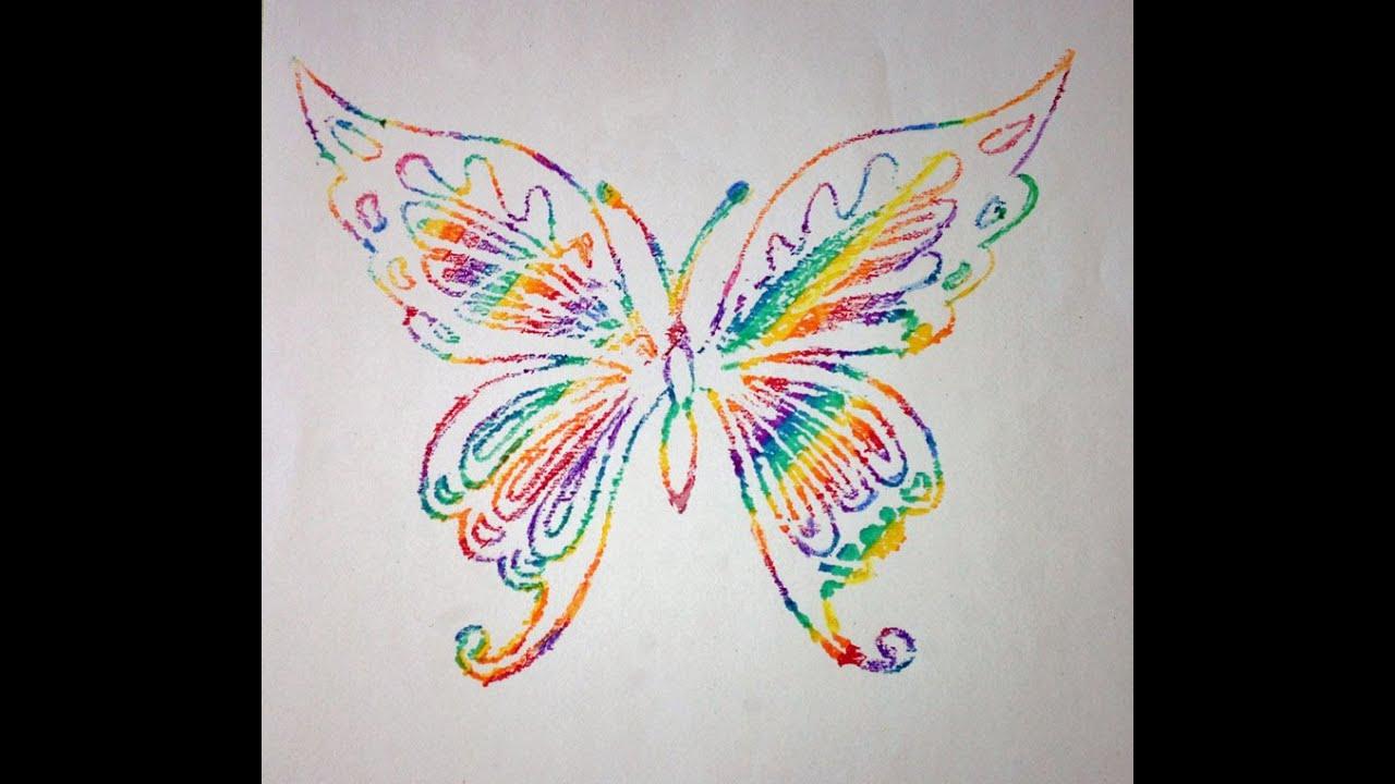 Crayon Drawing Kid