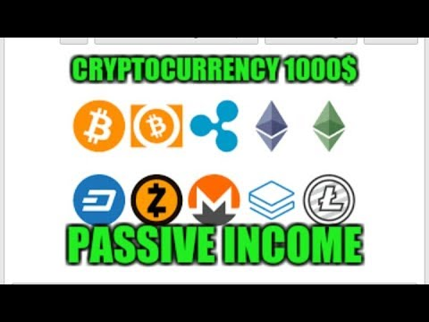 How to make passive income with cryptocurrency