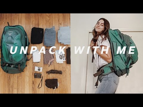 How to Pack For 3 Weeks Backpacking in Europe!