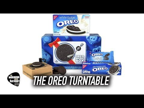Oreo Record Player Mp3