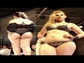 Fashion Week Plus Size 2017-Plus Size Lingerie For Woman-Fashion Show In Slow Motion. -the newest fa