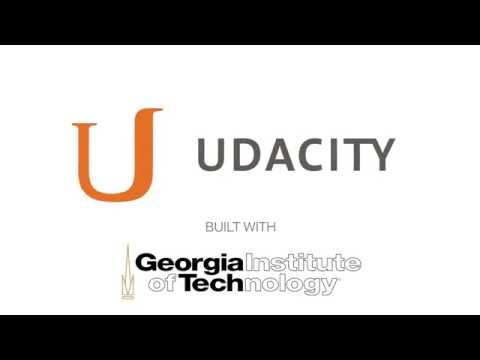 Udacity and Georgia Institute of Technology Welcome