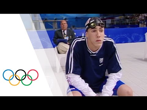 Michael Phelps' First Olympic Final at Sydney 2000 | Olympic Debut