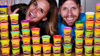 dctc s world play doh day sculpt the future challenge with amy jo and brandon