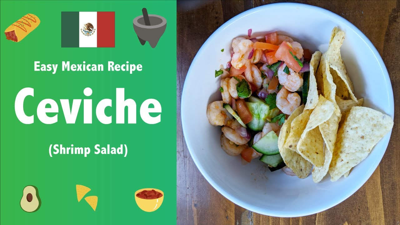 A simple ceviche recipe for an at-home Cinco de Mayo celebration ...