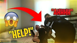 TIM ATTACKED ME! I'M KICKING HIM OUT! (Fortnite: Battle Royale)