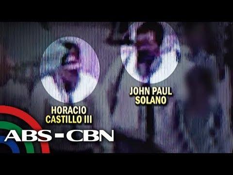 Suspek, nakuhanan sa CCTV na kasama ang law student isang araw bago siya nasawi