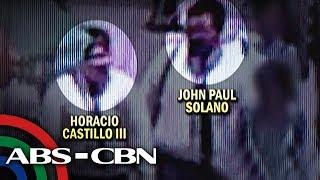 TV Patrol: Suspek, nakuhanan sa CCTV na kasama ang law student isang araw bago siya nasawi