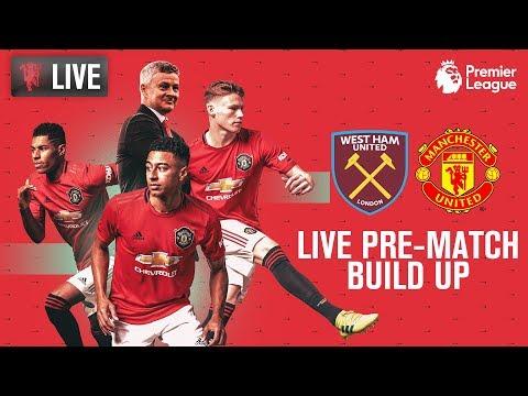 Manchester United V West Ham United - LIVE MUTV Pre-Match Build Up 12:30 (BST) | Premier League