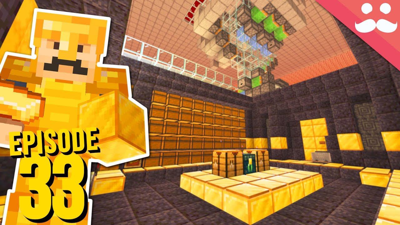 Hermitcraft 7: Episode 33 - GOLD AUTO CRAFTER!