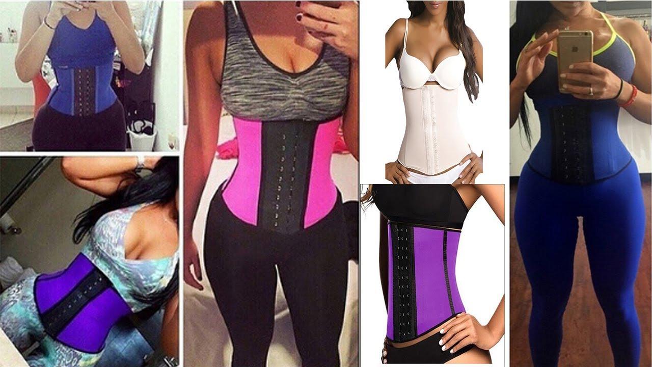 17a0f49e7fe Latex Waist Trainer Corset - Best Women Slim Body Shaper Girdles Corsets