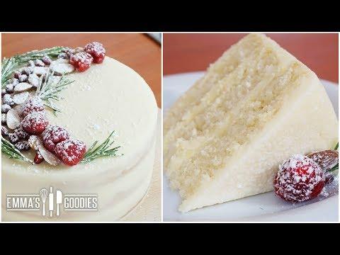 Almond White Cake Recipe - Amazingly Moist Cake