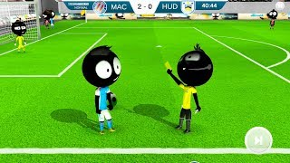 Stickman Soccer 2018 #10 | Android Gameplay | Friction Games