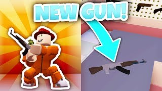 NEW AK-47 GUN UPDATE! (Roblox Jailbreak)