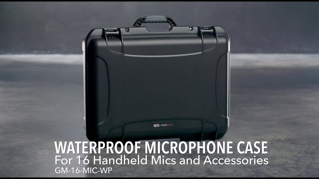 Gator GM-16-MIC-WP Waterproof Injection-molded 16 Microphone